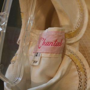 Chantal Dresses - Chantal little girls dress silk size 4 yellow